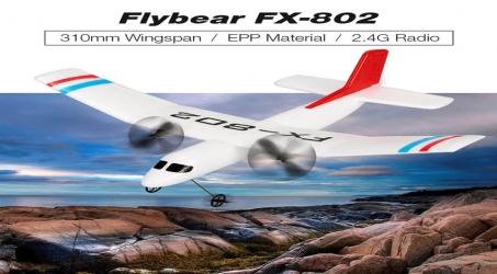 Flybear FX-802 2.4G 2CH RC Airplane RTF
