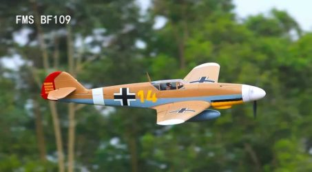 FMS BF109 RC Airplane PNP