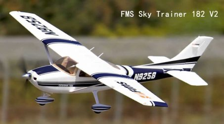 FMS Sky Trainer 182 V2 RC Airplane