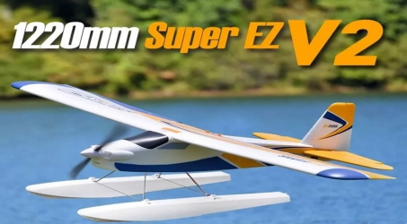 FMS Super EZ V2 RC Airplane PNP