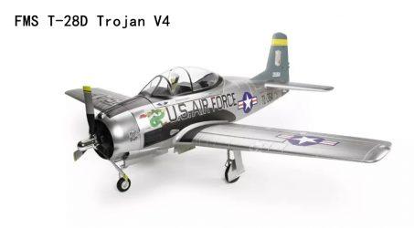 FMS T-28D Trojan V4 RC Airplane PNP