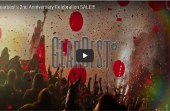 Hi,GearBest 2nd Anniversary: Invite You to Join Our Party!