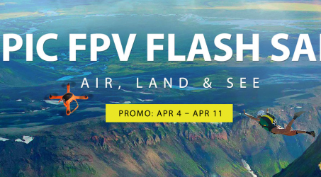 GearBest Flash Sale ! Buy Drones at Discount on APR 4 – APR 11