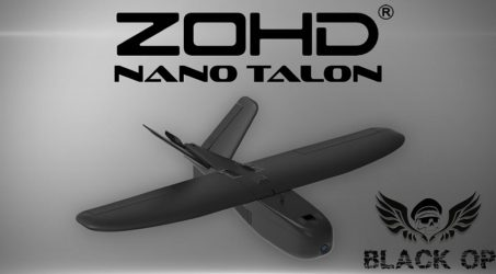 ZOHD Nano Talon Wingspan AIO V-Tail FPV RC Airplane