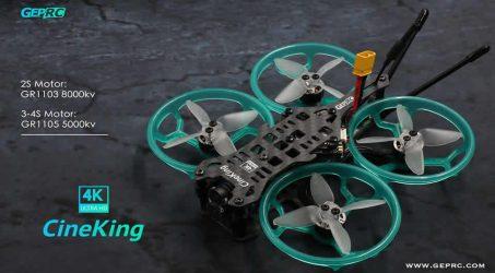Geprc CineKing 4K FPV Racing Drone