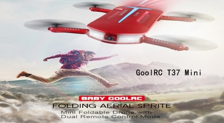 GoolRC T37 Mini 2.4G FPV RC Quadcopter