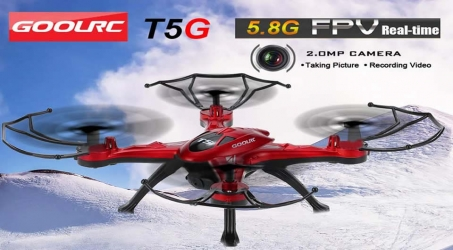 GoolRC T5G RC Quadcopter – Red