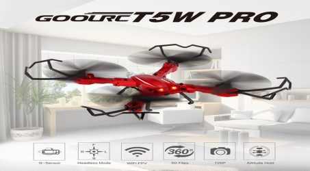 GoolRC T5W PRO 2.4G 4CH RC Quadcopter