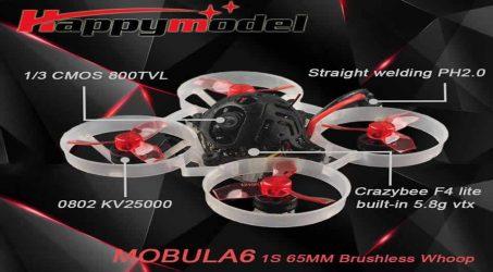 Happymodel Mobula6 FPV Racing Drone