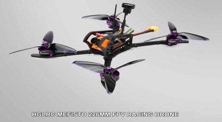 HGLRC Mefisto FPV Racing Drone