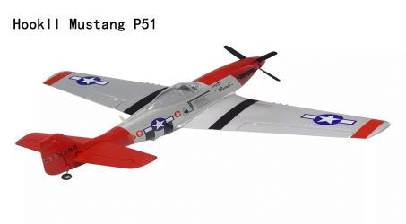 Hookll Mustang P51 RC Airplane Kit – Red