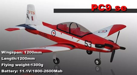 Hookll PILATUS PC-9 RC Airplane – PNP