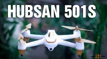 Hubsan H501S FPV Drone English Video Review