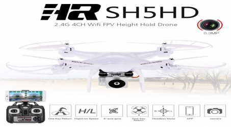HR SH5HD 2.4GHZ RC Quadcopter