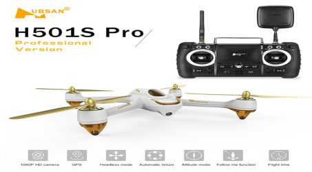 Hubsan H501S Pro RC Quadcopters -White