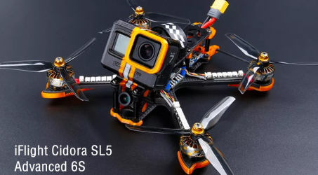 iFlight Cidora SL5 Advanced 6S Freestyle 5 Inch FPV Racing Drone