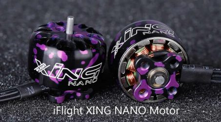 iFlight XING NANO X1206 1206 4500KV 6500KV 2-4S CW Thread Brushless Motor