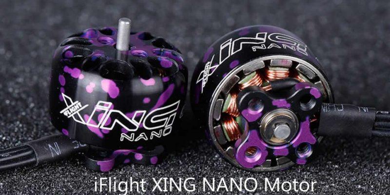 iFlight XING NANO X1206 1206 4500KV 6500KV 2-4S CW Thread Brushless Motor