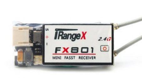 iRangeX FX801 Fasst S.BUS Dual Antenna  Mini Receiver