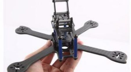 iX5-200MM 5 Inch Carbon Fiber Frame Kit