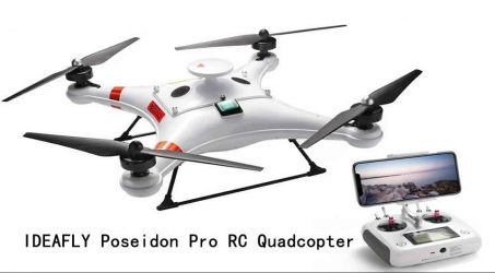 IDEAFLY Poseidon Pro RC Quadcopter