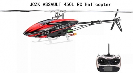 JCZK ASSAULT 450L RC Helicopter