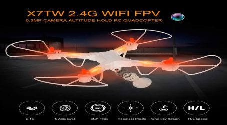 JIE-STAR X7TW RC Quadcopter