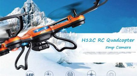 JJRC H12C Cheap Drone With 5MP Camera