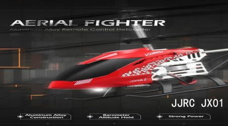 JJRC JX01 RC Helicopter – Red