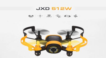 JXD 512W RC Quadcopter