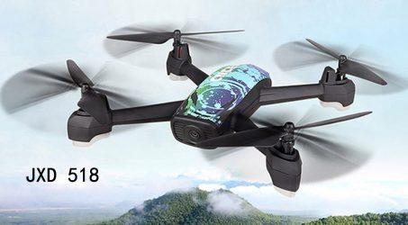 JXD 518 RC Quadcopter 2.4GHz – Blue