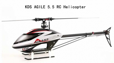 KDS AGILE 5.5 RC Helicopter