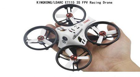 KINGKONG/LDARC ET115 3S FPV Racing Drone