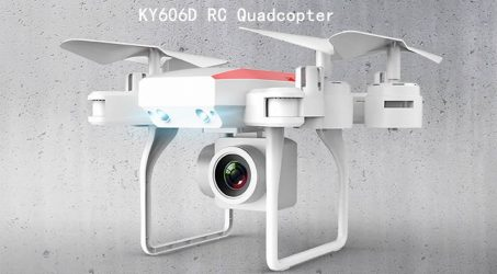 KY606D RC Quadcopter – White