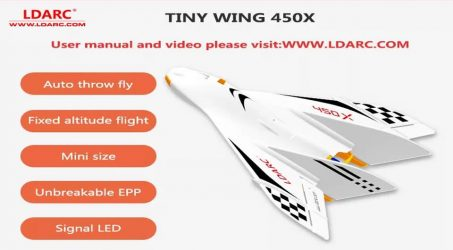 LDARC TINY WING 450X RC Airplane