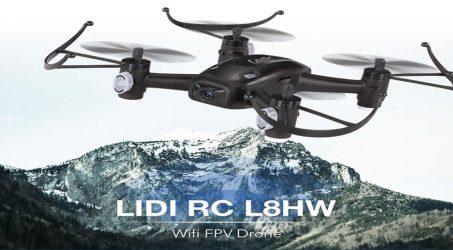 LIDI RC L8HW  RC Quadcopter RTF