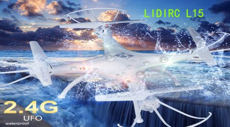 LIDIRC L15 RC Quadcopter  – White