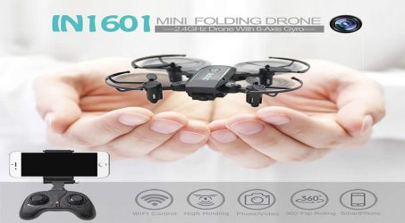 Linxtech IN1601 2.4G RC Quadcopter – RTF