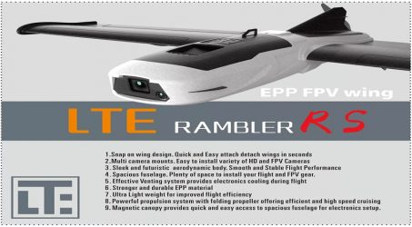 LTE Rambler RS RC Airplane PNP