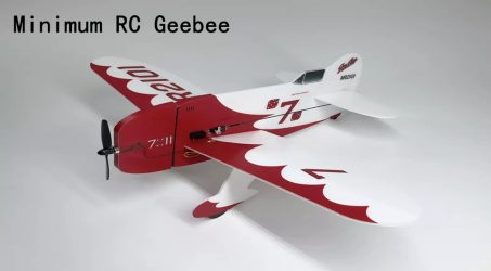 Minimum RC Geebee RC Airplane