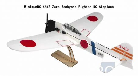 MinimumRC A6M2 Zero Backyard Fighter RC Airplane