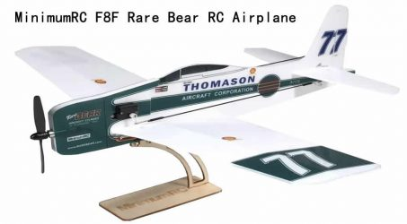 MinimumRC F8F Rare Bear RC Airplane