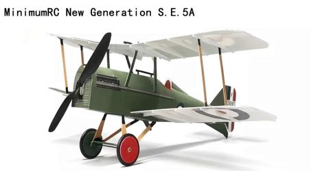 MinimumRC New Generation S.E.5A RC Airplane