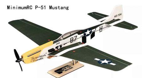 MinimumRC P-51 Mustang RC Airplane