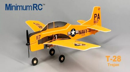 MinimumRC T-28 Trojan RC Airplane – PNP