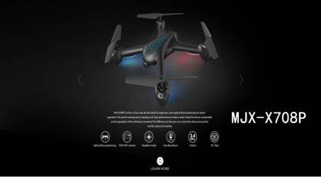 MJX X708P Cyclone Wi-Fi FPV RC Quadcopter