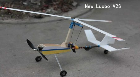 New Luobo V2S RC Airplane