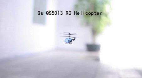 Qs QS5013 2.5CH Mini Micro RC Helicopter – Blue