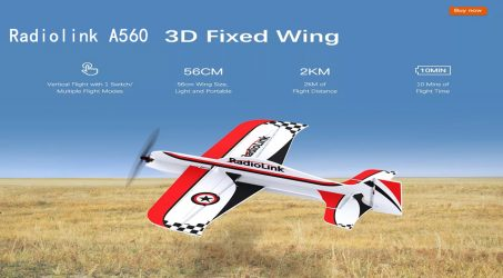 Radiolink A560 RC Airplane RTF