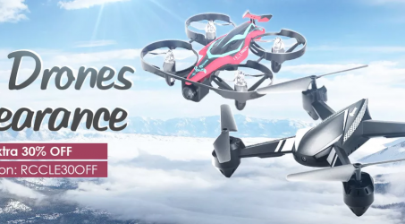 Extra 30% OFF – Banggood RC Drones Clearance